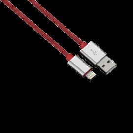 "Hama ""Color Line"" Charging/Data Cable, Lightning, Aluminium, 1 m, red"