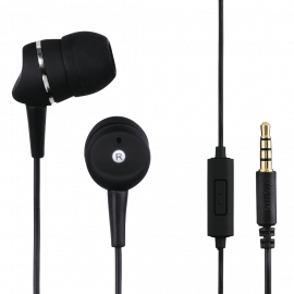 "Hama ""First Phone"" In-Ear Stereo Headphones, black"