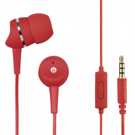 """Hama """"First Phone"""" In-Ear Stereo Headphones, Red"""