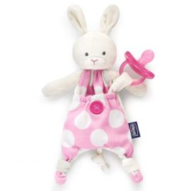 Chicco Pocket Friend Soother Holder, Girl