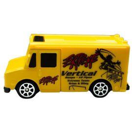 Maisto Fresh Metal - Free Wheeler Diecast Car - 3 inch - Yellow Panel Van