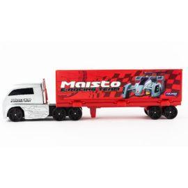 Fresh Metal - Highway Hauler - Boxed - Maisto E-Racing Team - Red & White