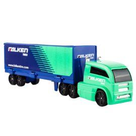 Fresh Metal - Highway Hauler - Boxed - Falcen Tires - Blue & Green