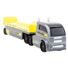Fresh Metal - Highway Hauler - Boxed - Robotic Transport Service - Grey & Yellow