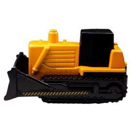 Maisto Fresh Metal - Free Wheeler Diecast Car - 3 inch - Bulldozer