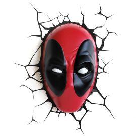 Marvel Deadpool Mask 3D Light