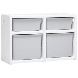 Ifam Mypick Modular Organizer 2 Level (Double Gray/White)