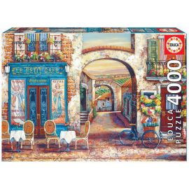 Educa Puzzles - 4000 Le Petit Café - Suitable for 3 years and above