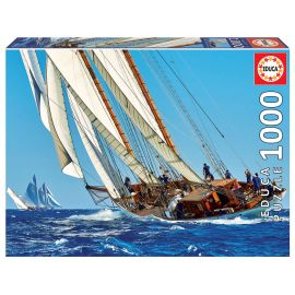 Educa Puzzles - 1000 Sailboat - Suitable for 3 years and above