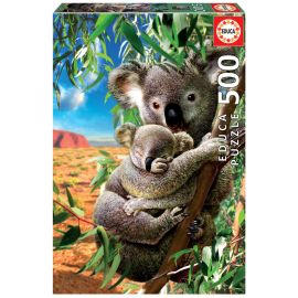 Educa Puzzles - 500 Koala And Cub - Suitable for 3 years and above