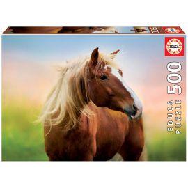 Educa Puzzles - 500 Horse At Sunrise
