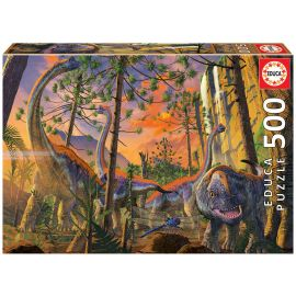 Educa Puzzles - 500 Curious, Vincent Hie - Suitable for 3 years and above