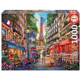 Educa Puzzles - 1000 Paris, Dominic Davison - Suitable for 3 years and above