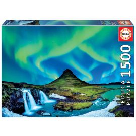 Educa Puzzles - 1500 Aurora Boreal Islandia - Suitable for 3 years and above