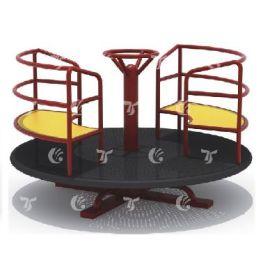 Gambol -  Merry Go Round Garden Playset-Red