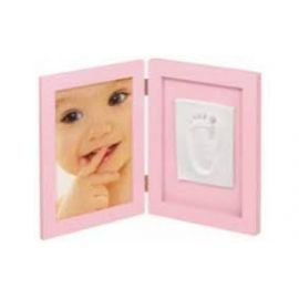 Baby Art, MSM Photo Frame With 1 Print - Pink