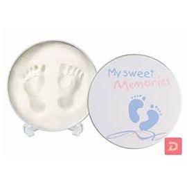 Baby Art, Magic Box Easy to Use Hand print Tin