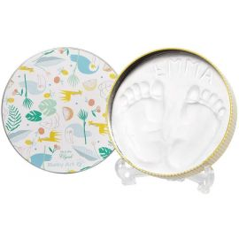 Baby Art Baby Art Magic Box Round Toucans Foot/Hand Print