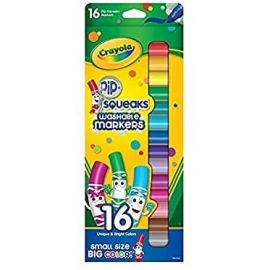Crayola 16 ct Washable Pip-Squeaks Markers