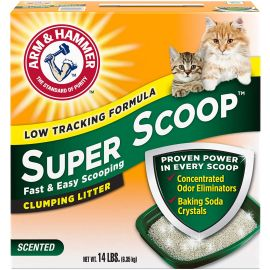 A&H Super Scoop Frag Free Clumping Litter  6.35 Kg
