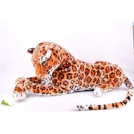 Gambol - Lying Leopard Soft Toy