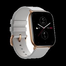Zepp Moon Grey Leather Strap Smart Watch