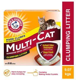 A&H Multi Cat Clumping Litter Unscent 9.07 Kg