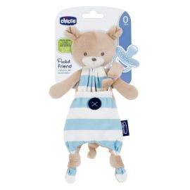 Chicco Pocket Friend Soother Holder, Boy