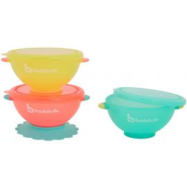 Badabulle 2 in 1, Bowl & Containers with Lid, Set of 3, Piece of 1