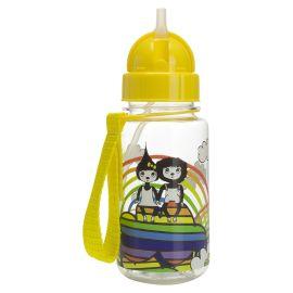 ZIP & ZOE - Drinking Bottle with Straw - Rainbow