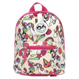 ZIP & ZOE - Mini Backpack + Safety Harness - Unicorn