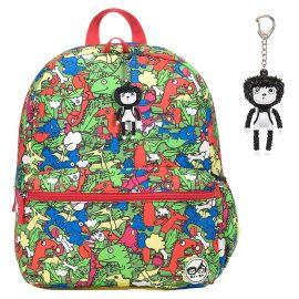 ZIP & ZOE - Junior Kid's Backpack - Dino Multi
