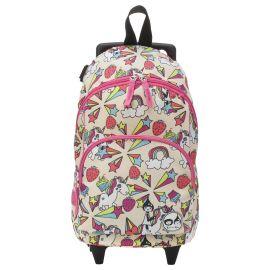Zip & Zoe - Kid's Mini Trolley Bag - Unicorn