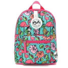 ZIP & ZOE - Mini Backpack + Safety Harness - Flamingo