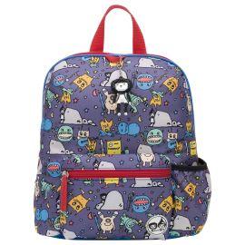 Zip & Zoe - Midi Monster Kid's Backpack 3-7Y - Purple