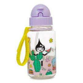 Zip & Zoe - 350ml Drinking Bottle W/ Straw - Llama