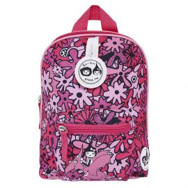 ZIP & ZOE - Mini Backpack + Safety Harness - Floral Pink