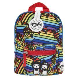 ZIP & ZOE - Mini Backpack + Safety Harness - Rainbow Multi