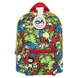 ZIP & ZOE - Mini Backpack + Safety Harness - Dino Multi