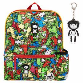 ZIP & ZOE - Midi Kid's Backpack - Dino Multi