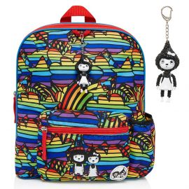 ZIP & ZOE - Midi Kid's Backpack - Rainbow Multi