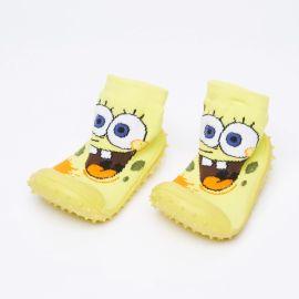 COOL GRIP Baby Shoe Socks Sponge Bob Yellow