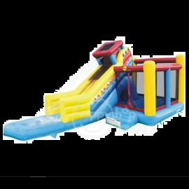 HAPPY HOP Sailing Slide Bouncer