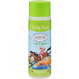 Childs Farm - 3 In 1 Swim Strawberry & Organic Mint - 250Ml