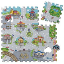 Chicco - Toy Puzzle Mat City