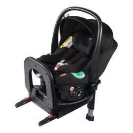 Chicco - Kiros i-Size Fast-In Car Seat with Bebe Care System - Black