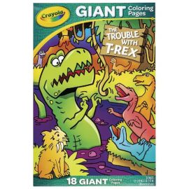 Crayola Giant Colouring Pages Trouble with T-Rex