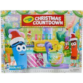 Crayola Kids Advent Calendar, Christmas Countdown Calendar