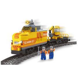 Ausini 463 Block Pieces Electric Train With Tracks