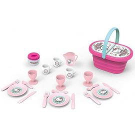 Smoby – Hello Kitty Picnic Basket and 20 Accessories